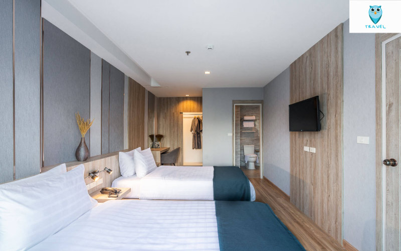 """So Boutique Jomtien Beach Hotel Pattaya"" โรงแรมบูทีคน้องใหม่"
