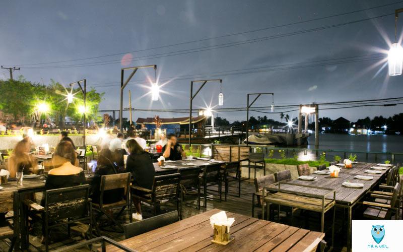 RIVER WINE Restaurant and Wine Barปากเกร็ด
