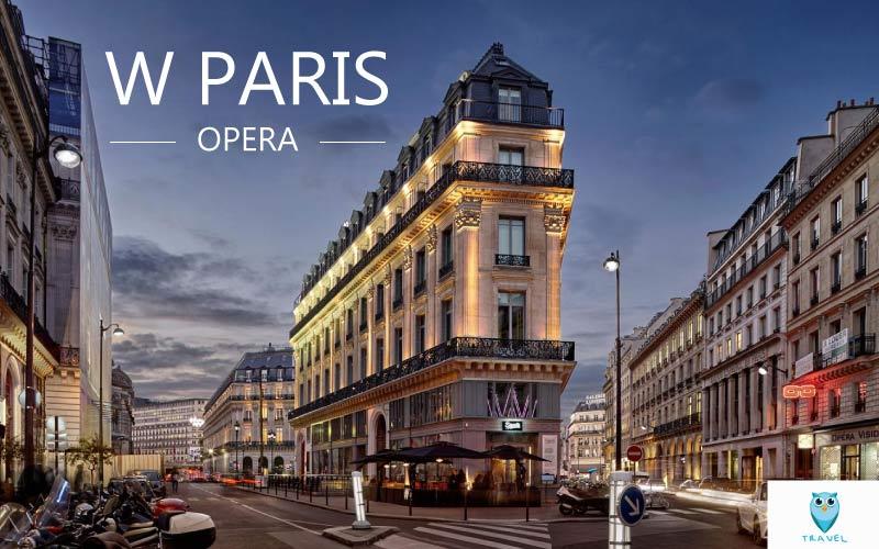 โรงแรม ดับเบิลยู ปารีส-โอเปร่า W Paris - Opera
